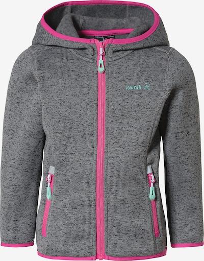 Kamik Fleecejacke in grau / pink, Produktansicht