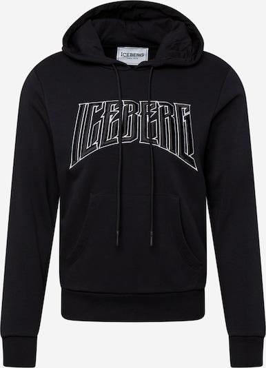 Bluză de molton ICEBERG pe negru, Vizualizare produs