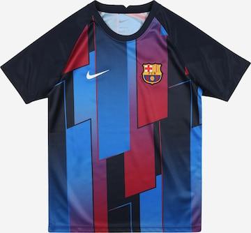 NIKE Shirt in Blau