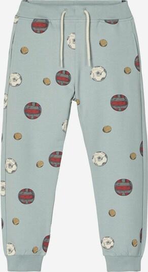 Pantaloni NAME IT di colore blu chiaro / rosso scuro, Visualizzazione prodotti