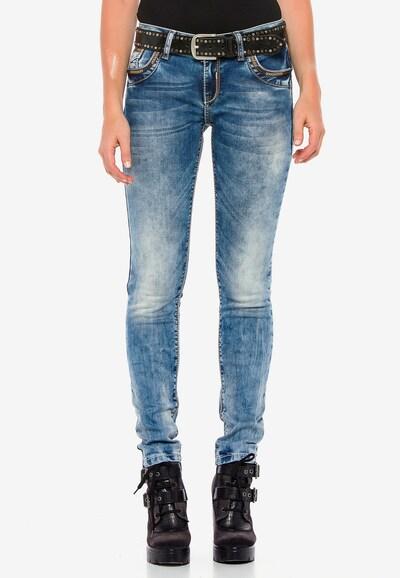 CIPO & BAXX Jeans 'WD380' in blau, Modelansicht