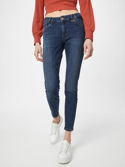 PULZ Jeans Jeans 'ANNA' in blue denim, Modelansicht