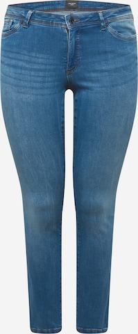 Vero Moda Curve Jeans 'Manya' in Blue
