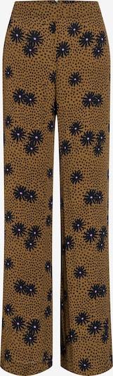 Ana Alcazar Pantalon 'Bamis' en bleu marine / marron, Vue avec produit