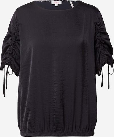 Bluză s.Oliver pe negru, Vizualizare produs