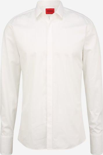 HUGO Chemise 'Ejinar' en blanc, Vue avec produit