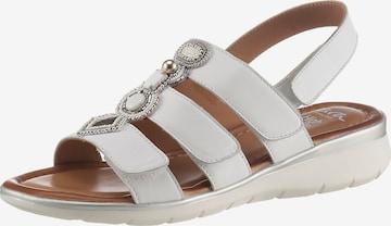 ARA Sandale in Weiß