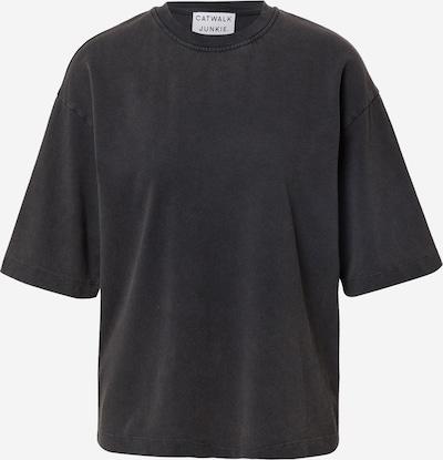 Tricou 'Nuna' CATWALK JUNKIE pe gri metalic, Vizualizare produs