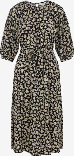 OBJECT Kleid 'OBJANMIRA' in beige / dunkelblau / oliv / rosa, Produktansicht