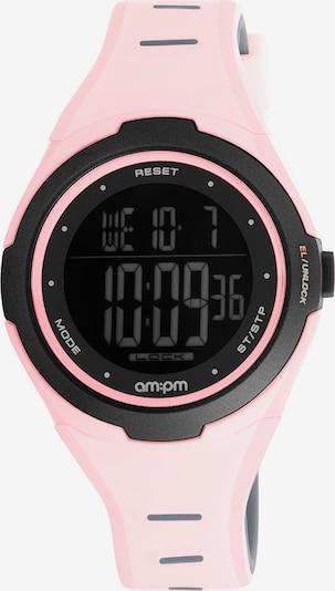 AM:PM Digitaluhr 'Modern electronic smooth sport watch' in rosa, Produktansicht
