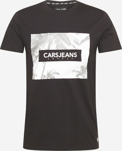 Tricou 'SIMMONS' Cars Jeans pe gri taupe / negru / alb, Vizualizare produs