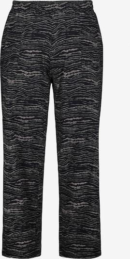 Ulla Popken Jerseyhose in schwarz, Produktansicht