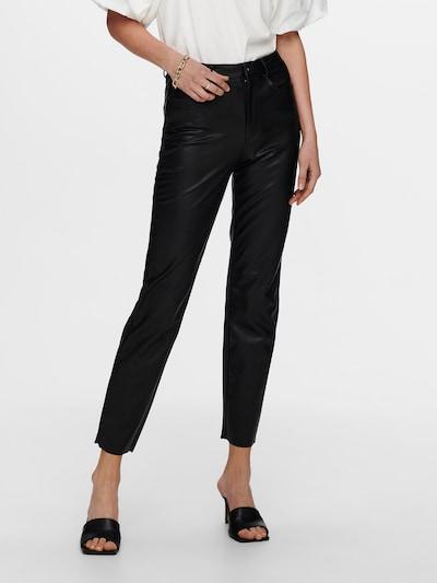 ONLY Broek 'Emily' in de kleur Zwart, Modelweergave