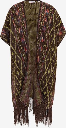 IZIA Cape in de kleur Bruin / Gemengde kleuren, Productweergave