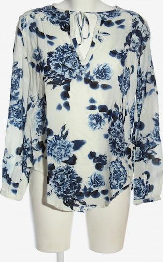 H&M Langarm-Bluse in S in blau / weiß, Produktansicht