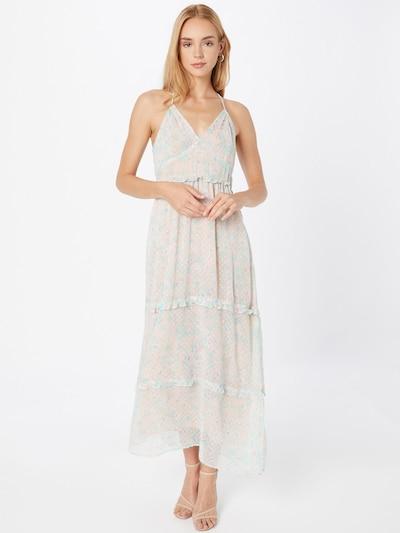 Superdry Kleid 'MARGAUX' in blau / jade / pastellpink / weiß, Modelansicht