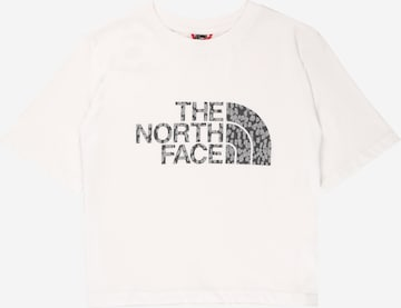 T-Shirt fonctionnel THE NORTH FACE en blanc