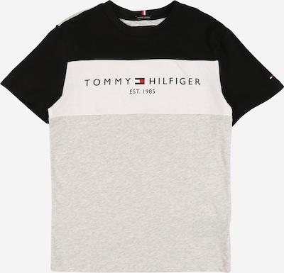 TOMMY HILFIGER Shirt in de kleur Lichtgrijs / Zwart / Wit, Productweergave