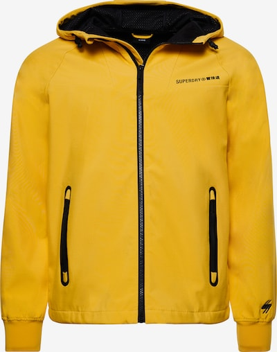 Superdry Tussenjas in de kleur Geel / Zwart, Productweergave