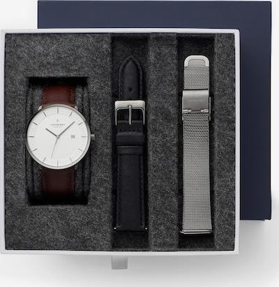 Nordgreen Nordgreen Unisex-Uhren Analog Quarz ' ' in braun / schwarz / silber, Produktansicht