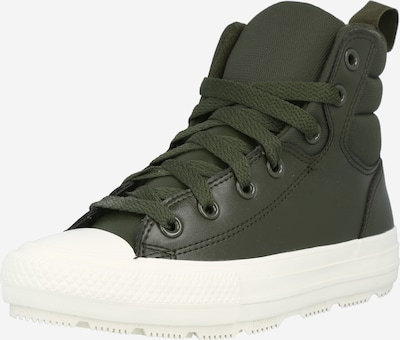 CONVERSE High-Top Sneakers in Khaki / White, Item view