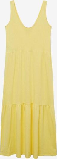 MANGO Robe d'été 'MASITO' en jaune, Vue avec produit