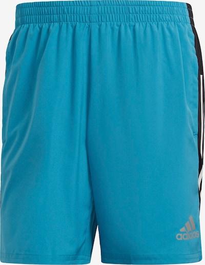 ADIDAS PERFORMANCE Sportbroek in de kleur Turquoise / Zwart, Productweergave