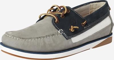 TIMBERLAND Slipper in dunkelblau / grau / weiß, Produktansicht