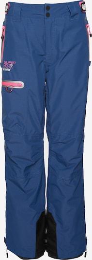 Superdry Pantalon de sport 'Slalom Slice' en marine / rose, Vue avec produit