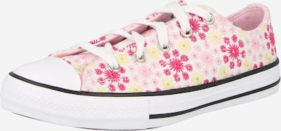 CONVERSE Baskets en jaune / rose / rose, Vue avec produit