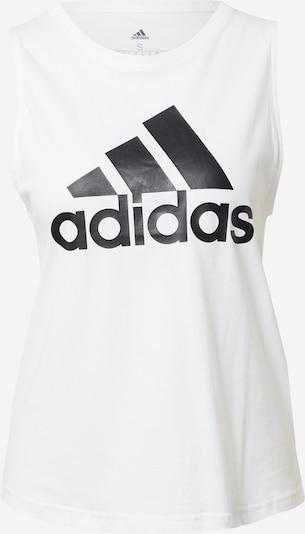 ADIDAS PERFORMANCE Športni top | črna / off-bela barva, Prikaz izdelka