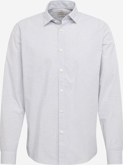 ESPRIT Overhemd in de kleur Blauw / Wit: Vooraanzicht