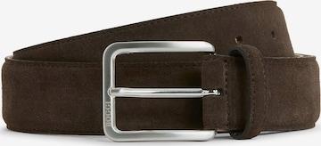 Cintura di Boggi Milano in marrone