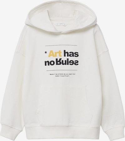 MANGO KIDS Sweatshirt in weiß, Produktansicht