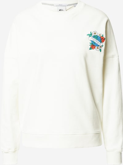 QUIKSILVER Sweatshirt 'Boxy' in mixed colours / white, Item view