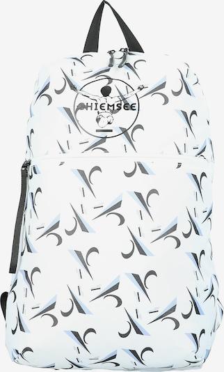 CHIEMSEE Rucksack 'Surf n Turf' in hellblau / schwarz / weiß, Produktansicht