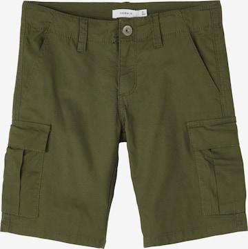 NAME IT Shorts in Grün