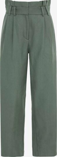 HALLHUBER Bundfaltenhose in grün, Produktansicht