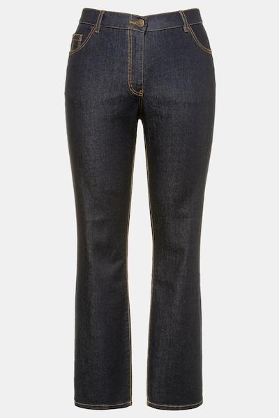 Ulla Popken Jeans in de kleur Donkerblauw, Productweergave