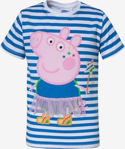 Peppa Pig T-Shirt in blau / rosa / weiß, Produktansicht