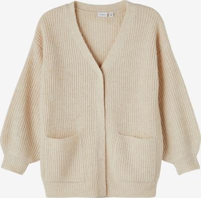 NAME IT Cardigan en beige chiné, Vue avec produit