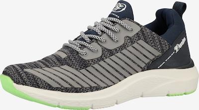 TOM TAILOR Sneaker in blau / grau / grün / schwarz, Produktansicht