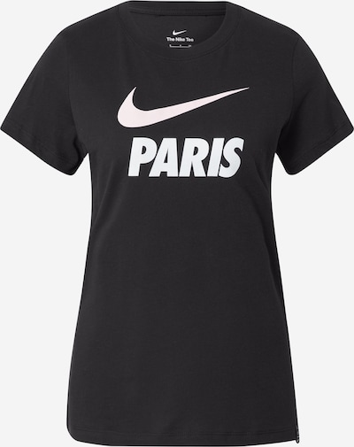 NIKE Sporta krekls 'Paris Saint-Germain', krāsa - melns / balts, Preces skats