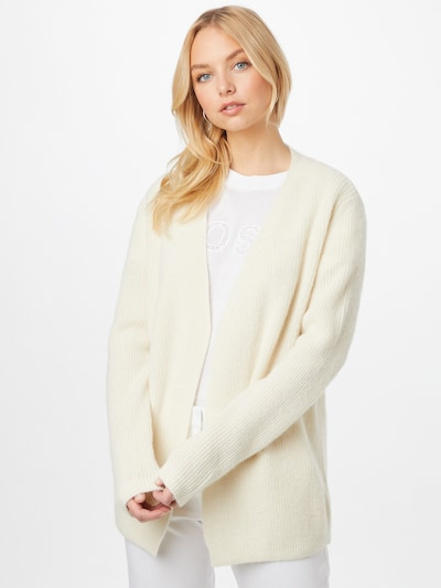 BOSS Casual Strickjacke in weiß, Modelansicht