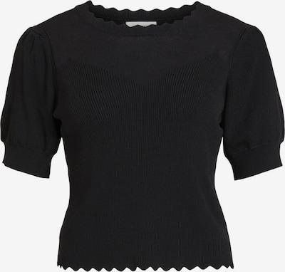 OBJECT Pullover in schwarz: Frontalansicht