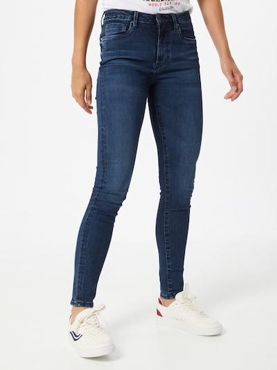 Pepe Jeans Kavbojke 'Regent' | moder denim barva, Prikaz modela