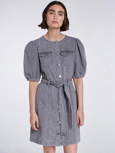 SET Kleid in grey denim, Modelansicht