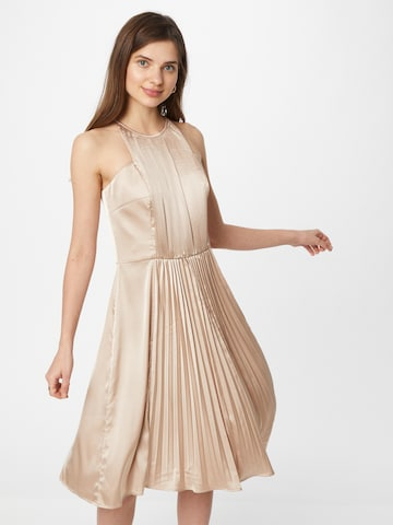 Chi Chi London Cocktail dress 'Carly' in Beige