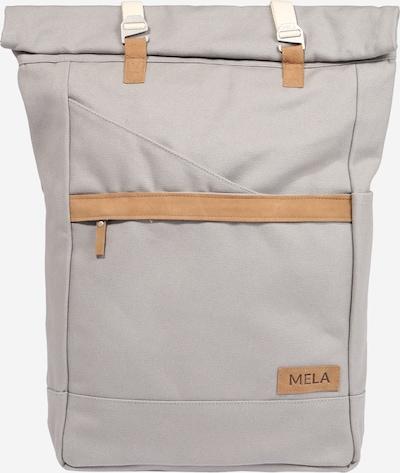 MELAWEAR Backpack 'Ansvar I' in brown / light grey, Item view
