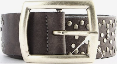 VANZETTI Gürtelschnalle in XS-XL in schwarz / silber, Produktansicht
